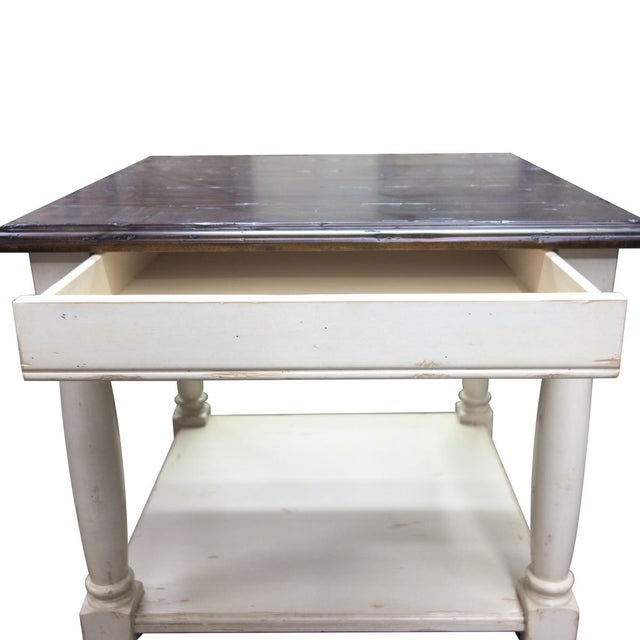 English Fremarc Designs Country English Side Table For Sale - Image 3 of 6