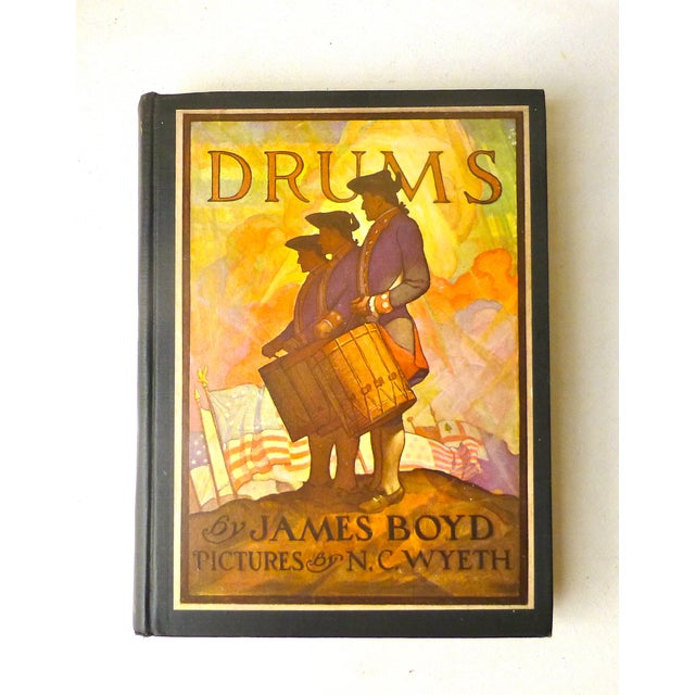 """""""Drums"""" Book Illustrated by N.C. Wyeth, 1928 - Image 2 of 11"""