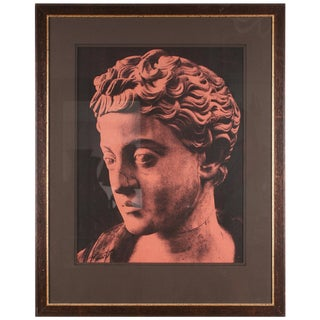 Original Xerography Print of Busts From Antiquity II For Sale
