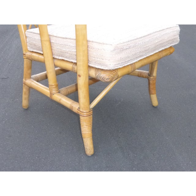 Vintage Mid Century Bamboo Chairs - A Pair - Image 9 of 10
