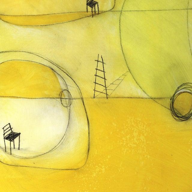 """""""Espacio De Sol"""" Original Abstract Artwork by Sergio Valenzuela For Sale - Image 4 of 9"""