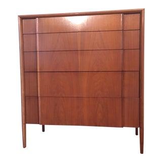 1960s Mid Century Modern Drexel Parallel Hutch Dresser For Sale