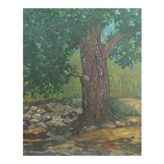 Original Impressionist Tree Painting