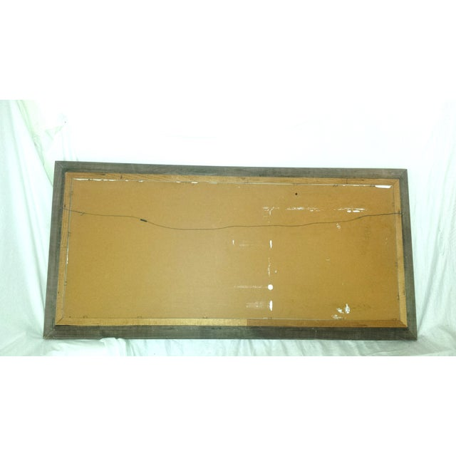 Vintage Bamboo Serving Tray For Sale - Image 4 of 8
