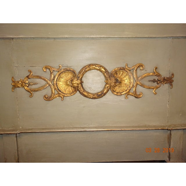 19th Century French Trumeau Mirror For Sale - Image 10 of 12
