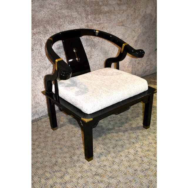 1980s Pallavisini Asian Style Italian Chair For Sale - Image 12 of 12