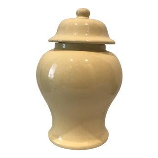 Hyalyn Yellow Ginger Jar