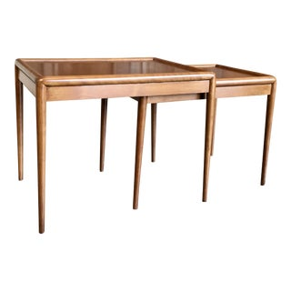 Nesting Tables by t.h. Robsjohn-Gibbings for Widdicomb - A Pair For Sale