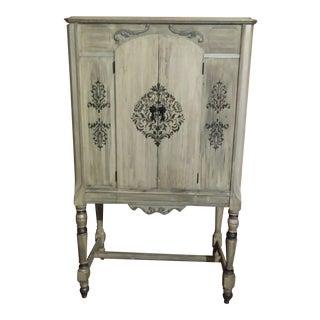 Repurposed Antique Radio Cabinet For Sale