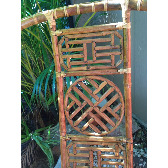 Antique Chinese Wooden Chair - Image 4 of 7