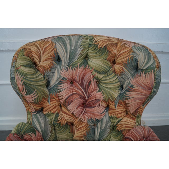 New Orleans by Councill Tufted Fan Back Wing Chair - Image 10 of 10