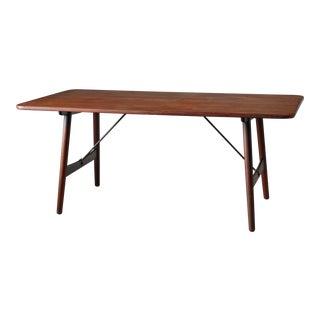 Børge Mogensen Early Hunting Table for Søborg, Denmark, circa 1950 For Sale
