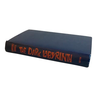 Vintage the Dark Labyrinth Mid Century Novel For Sale