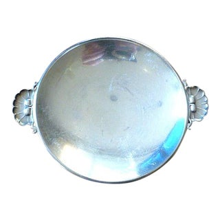 Mid 20th Century Georg Jensen 925 Sterling Silver Ga Albertus Nut Butter Candy Dish For Sale