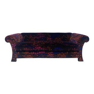 Henredon Jack Lenor Larsen Velvet Sofa For Sale