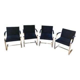 Mies Von Der Rohe Brno Chairs - Set of 4