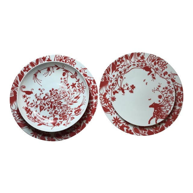 Tord Boontje's Table Stories Dinnerware Pieces - Set of 4 - Image 1 of 10