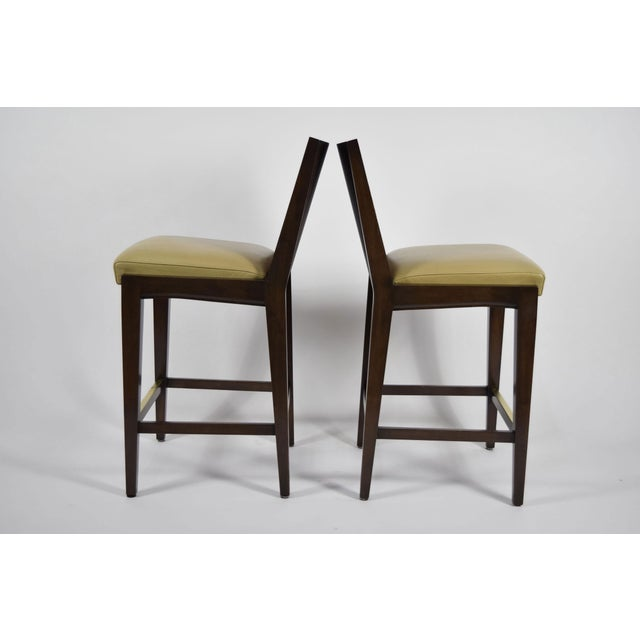 """""""Kenya"""" Counterheight Barstools by Axis - A Pair For Sale - Image 4 of 8"""