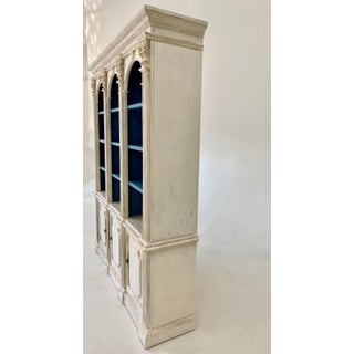 Vintage Open Shelved Painted China Cabinet Preview