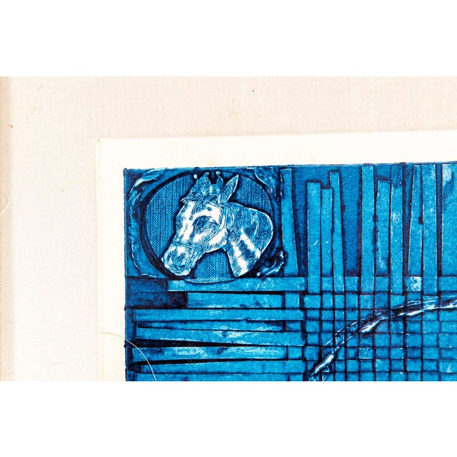 """Abstract Expressionism Late 20th Century Numbered """"Pienso"""" Drawing For Sale - Image 3 of 13"""