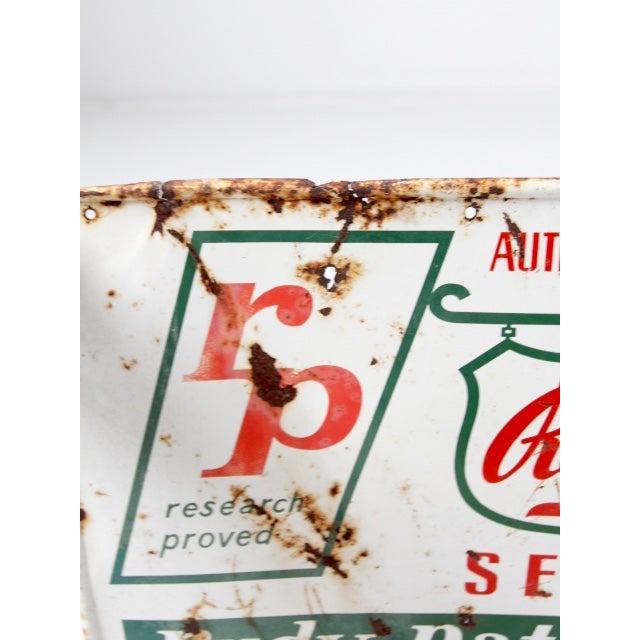 "Vintage ""RP Seeds"" Metal Sign - Image 3 of 6"