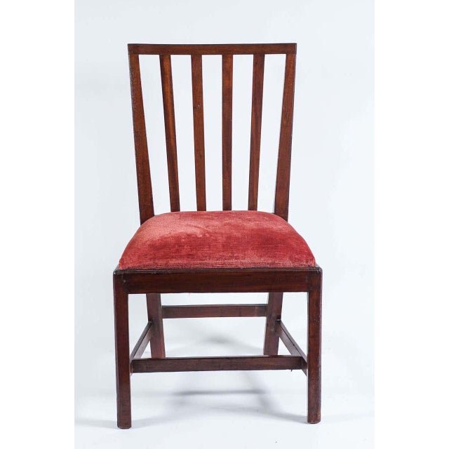 American 1790 Federal Mahogany Side Chair For Sale - Image 3 of 10