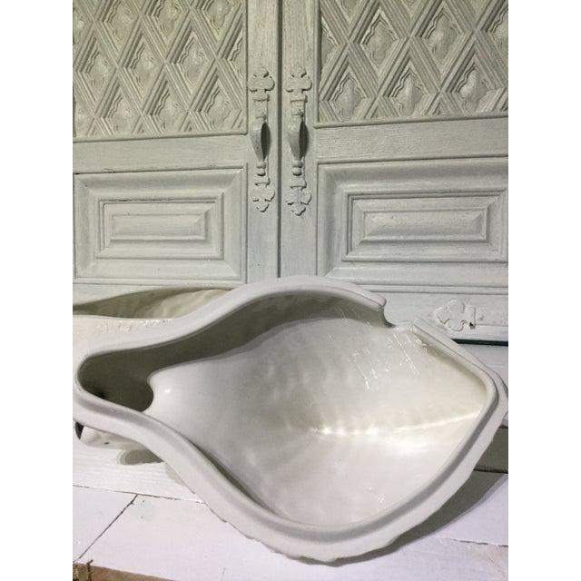 Italian Mid Century Ceramic Swan Tureen With Ladle For Sale - Image 12 of 13