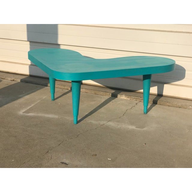 1950s Vintage Boomerang Table For Sale - Image 5 of 5