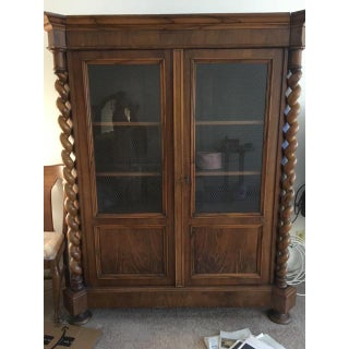 Traditional Mahogany Display Cabinet Preview