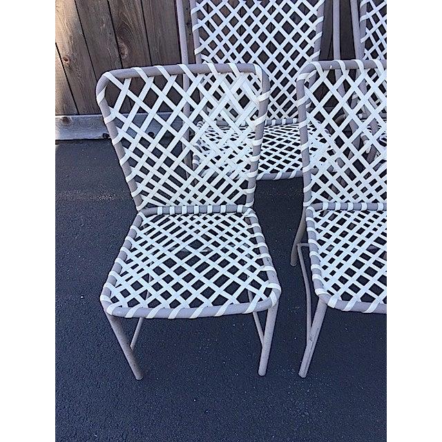 Vintage Brown Jordan Patio Chairs - Set of 5 - Image 4 of 8