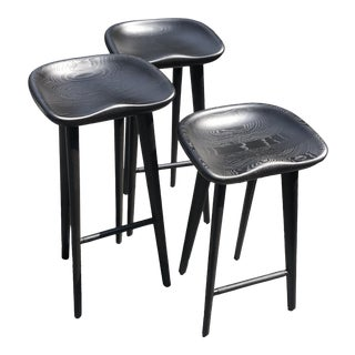 Bassamfellows Tractor Stools - Set of 3 For Sale