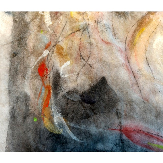 """2020s """"Woman Washing Her Hair"""" Abstract Figurative Painting For Sale - Image 5 of 5"""