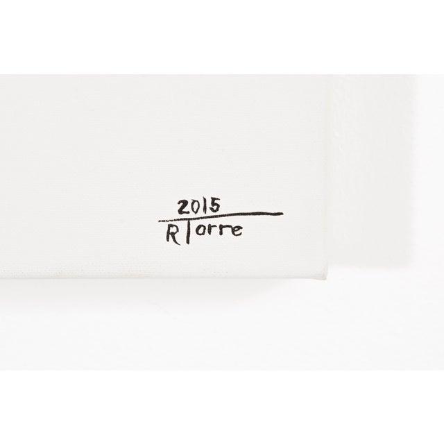 """Acrylic Paint Raul de la Torre, """"FILS I COLORS CCXLIX"""" For Sale - Image 7 of 8"""