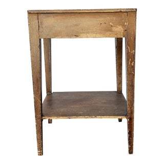 Antique Early American Turn of the Century Handmade Table For Sale