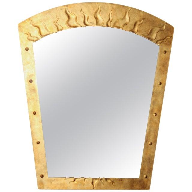 David Marshall Èglomisé Mirror For Sale