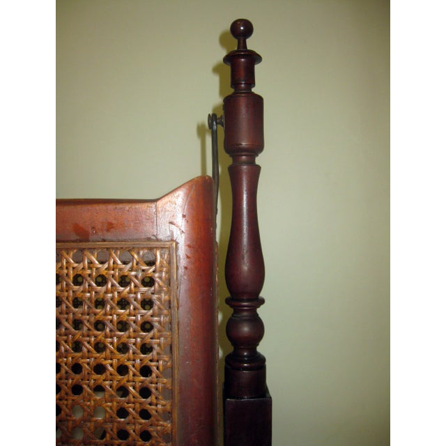 Mid 19th Century 19th Century Gothic Revival Walnut Swinging Cradle For Sale - Image 5 of 13