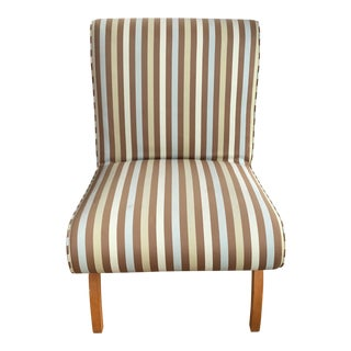 1950s Vintage Slipper Chair For Sale