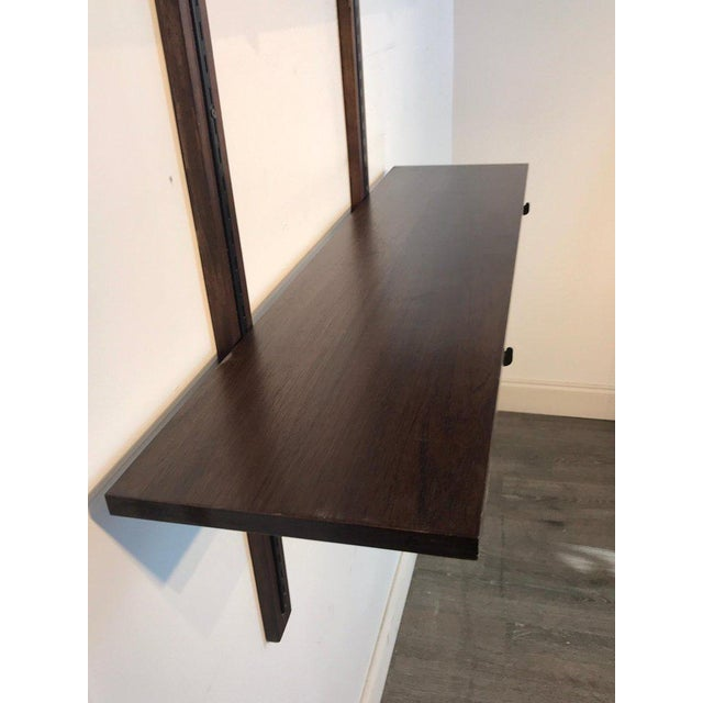 Danish Modern Danish Modern Rosewood Adjustable Shelves For Sale - Image 3 of 12