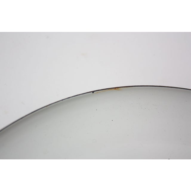 White Georges Briard Enamel Fruit / Vegetable Plate For Sale - Image 8 of 9