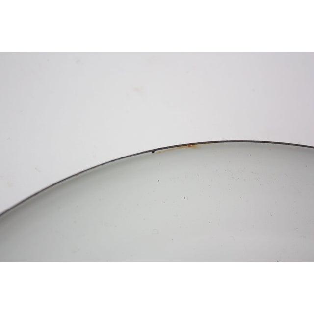 Black Georges Briard Enamel Fruit / Vegetable Plate For Sale - Image 8 of 9