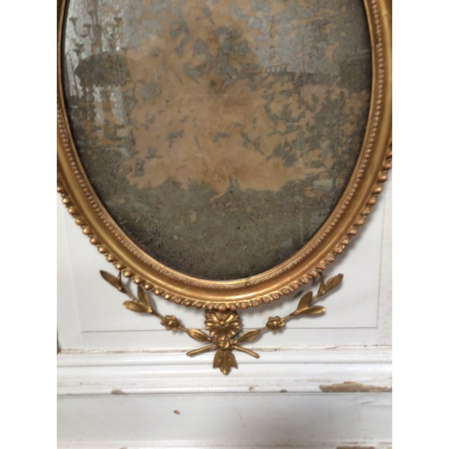 18th Century Antique Neoclassical Mirror For Sale - Image 5 of 6