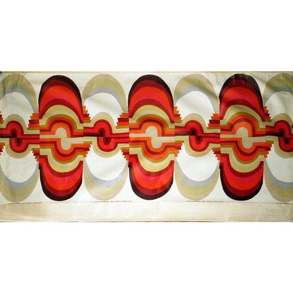 "1971 Mid-Century Knoll Wall Panel, ""Omahar"" - Image 2 of 8"