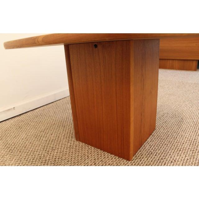 Mid-Century Danish Modern Mobler Teak Side Table - Image 4 of 10