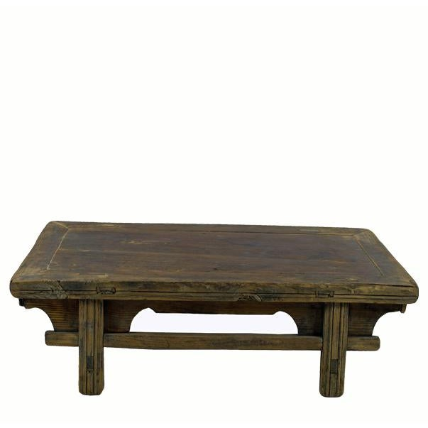 Reclaimed Wood Shandong Accent Table For Sale - Image 4 of 4
