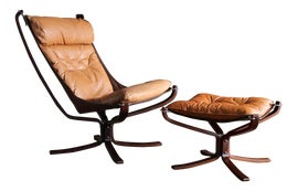 Image of Brown Accent Chairs