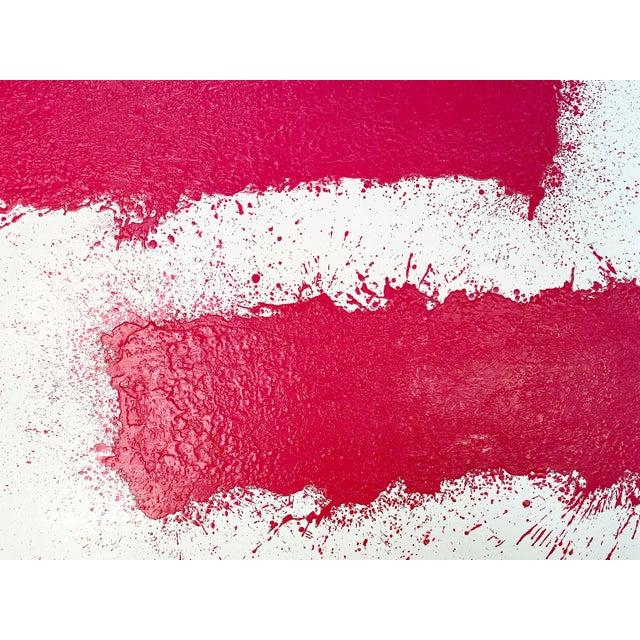 Encaustic John O'Hara, Tar, T3, Encaustic Painting For Sale - Image 7 of 11