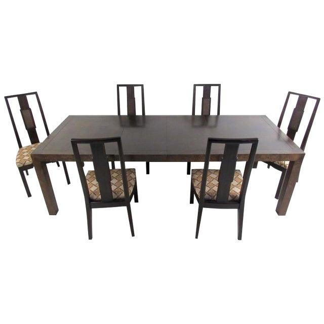 John Stuart Mid-Century Modern Dining Room Set - Image 1 of 10
