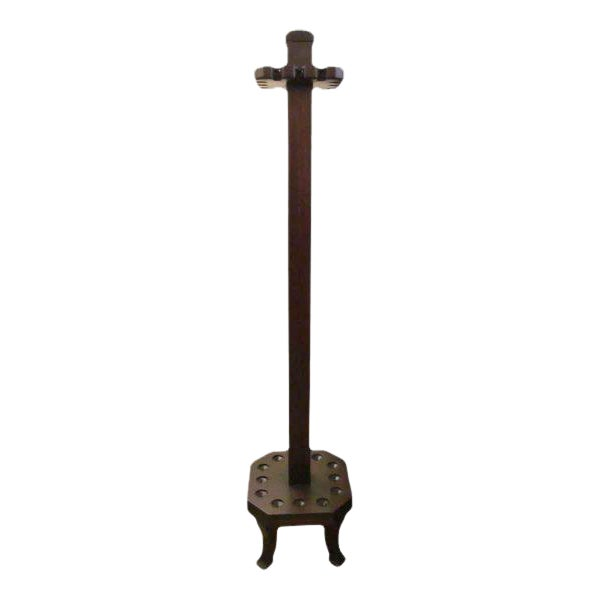 Antique Brunswick Billiard Cue Rack - Image 1 of 6