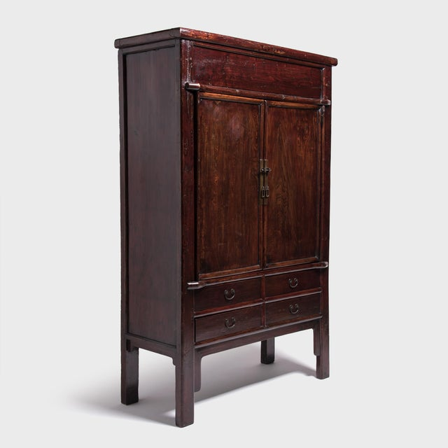 Early 19th Century 19th Century Chinese Grand Seven Drawer Cabinet For Sale - Image 5 of 10