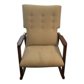 MidCentury Rocker by Jens Risom For Sale